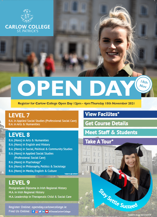 Carlow College Open Day